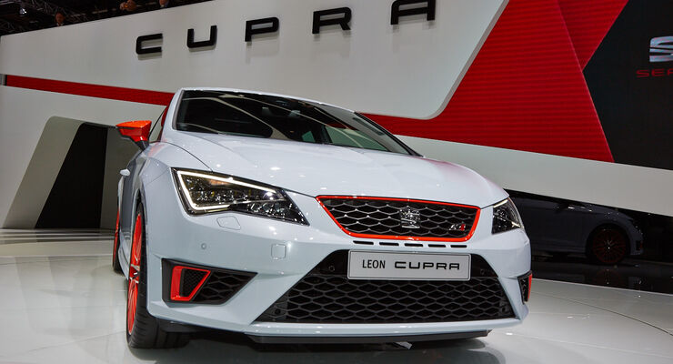 Seat Leon Cupra, Genfer Autosalon, Messe 2014