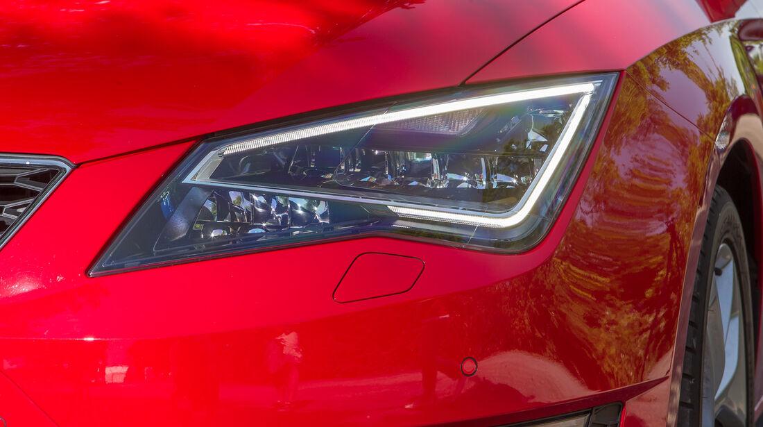 Seat Leon SC 1.4 TSI, Frontscheinwerfer