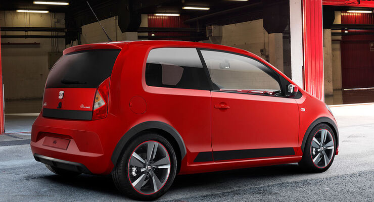 seat mii fr am w rthersee der kleinwagen zeigt muckies. Black Bedroom Furniture Sets. Home Design Ideas