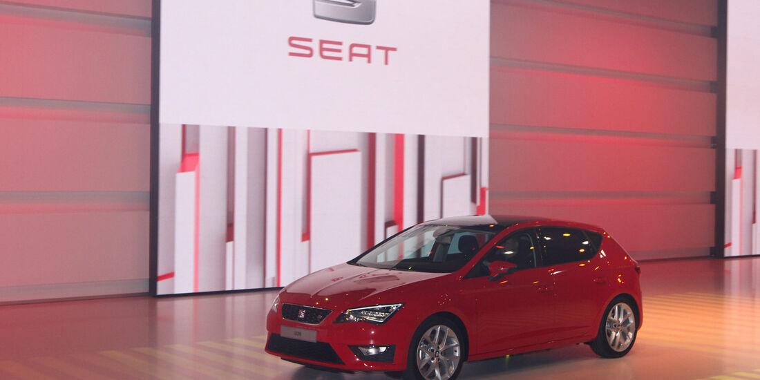 Seat, VW Konzernabend, Autosalon Paris 2012