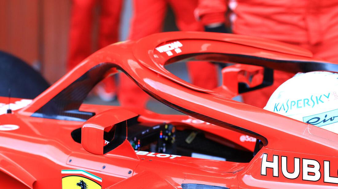 Sebastian Vettel - Ferrari - F1-Test - Barcelona - Tag 7 - 8. März 2018