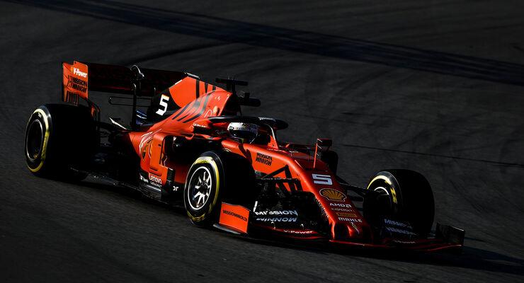 sebastian vettel ferrari f1 testfahrten 2019 barcelona