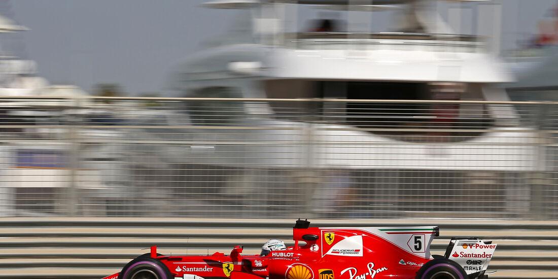 Sebastian Vettel - Ferrari - Formel 1 - GP Abu Dhabi - 24. November 2017