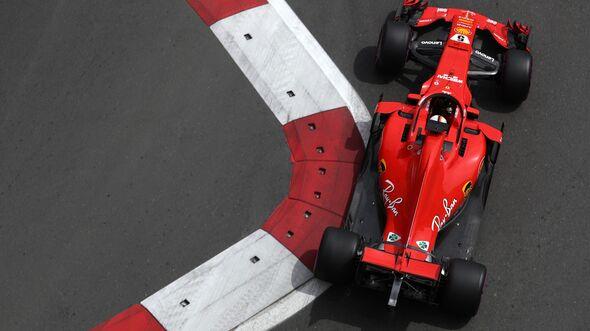 Sebastian Vettel - Ferrari - Formel 1 - GP Aserbaidschan - 27. April 2018