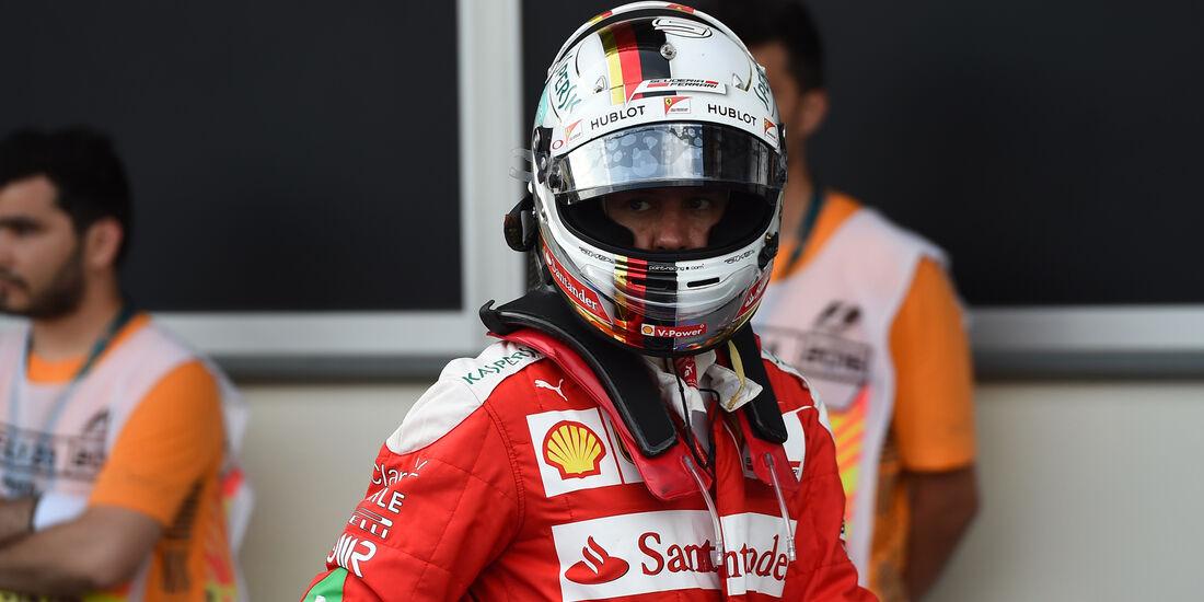 Sebastian Vettel - Ferrari - Formel 1 - GP Aserbaidschan - Baku - 18. Juni 2016