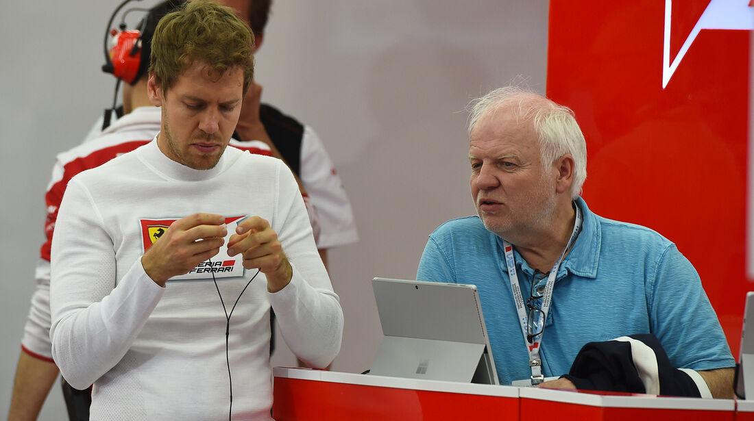 Sebastian Vettel - Ferrari - Formel 1 - GP Bahrain - 1. April 2016