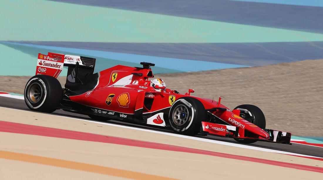 Sebastian Vettel - Ferrari - Formel 1 - GP Bahrain - 17. April 2015