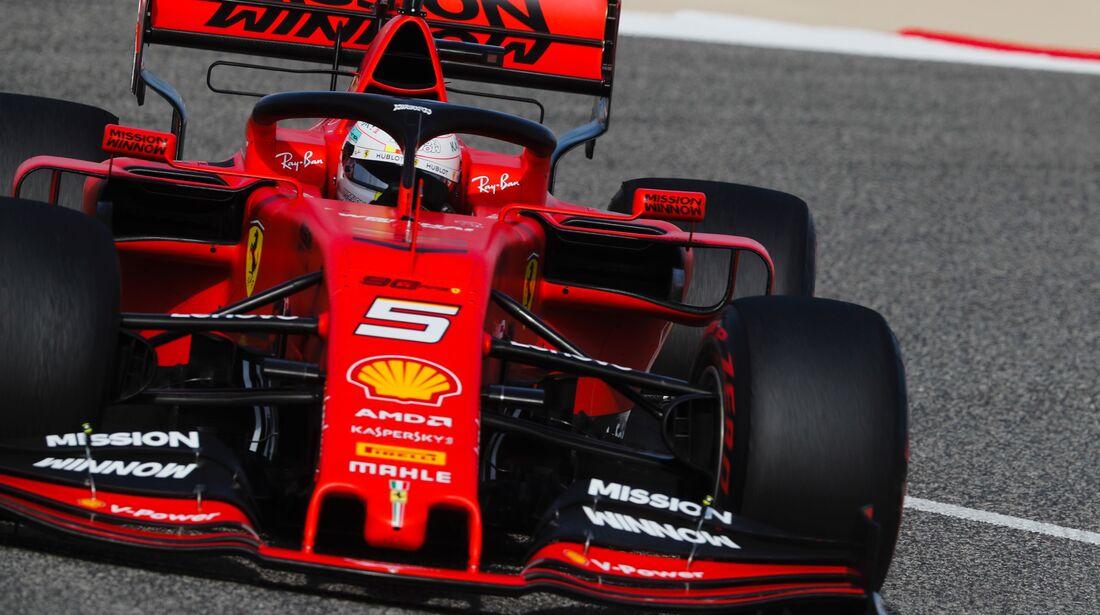 Sebastian Vettel - Ferrari - Formel 1 - GP Bahrain - 30. März 2019