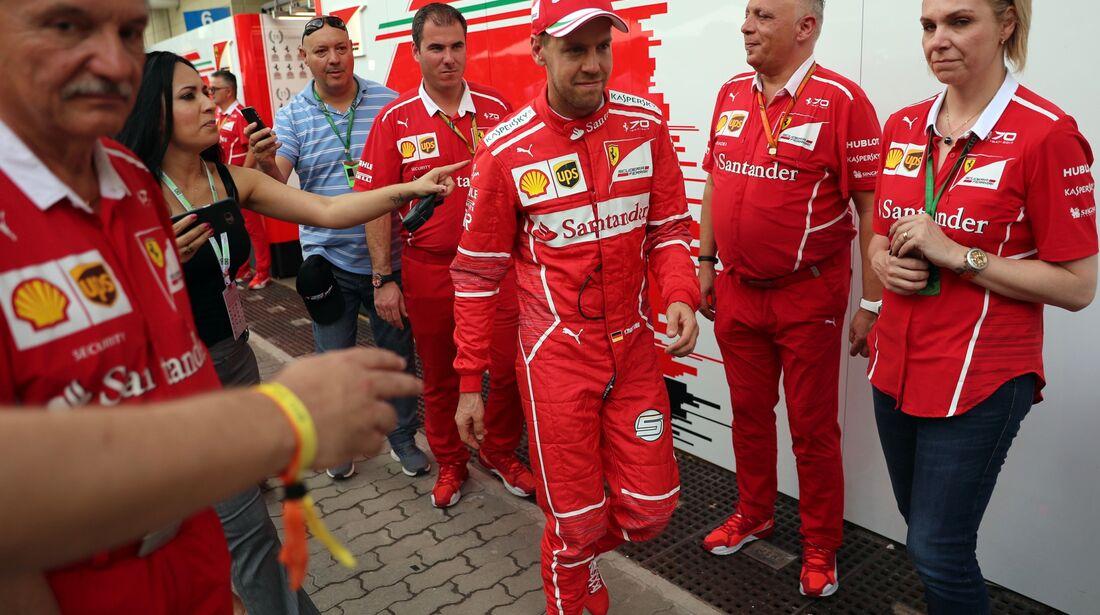 Sebastian Vettel - Ferrari - Formel 1 - GP Brasilien - 10. November 2017