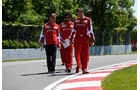 Sebastian Vettel - Ferrari - Formel 1 - GP Kanada - Montreal - 4. Juni 2015