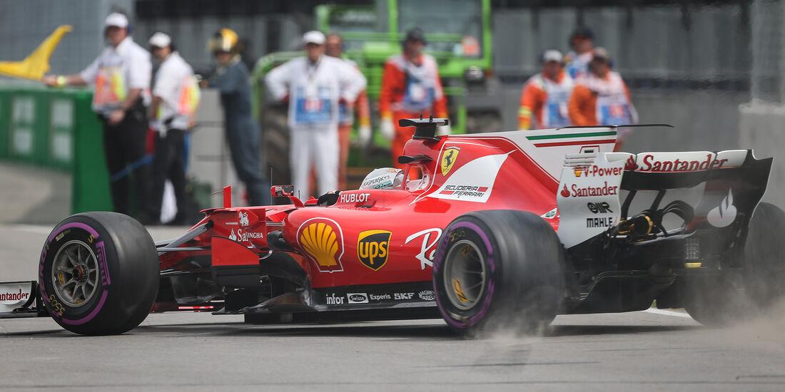 Sebastian Vettel - Ferrari - Formel 1 - GP Kanada - Montreal - 9. Juni 2017