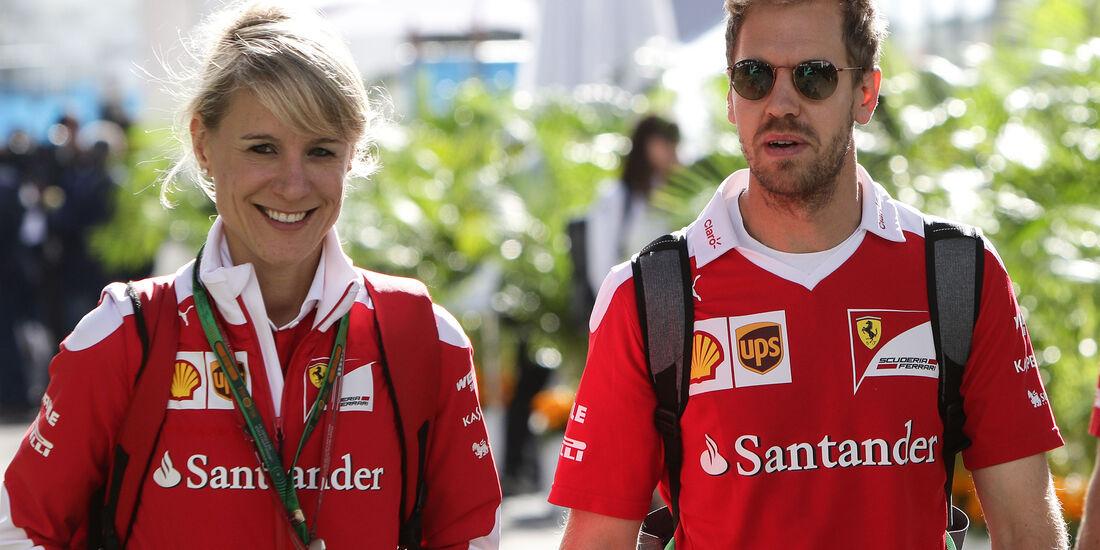 Sebastian Vettel - Ferrari - Formel 1 - GP Mexiko - 27. Oktober 2016