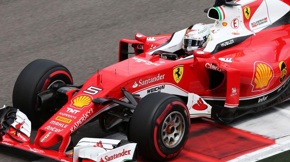 Sebastian Vettel - Ferrari - Formel 1 - GP Russland - 30. April 2016
