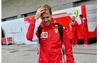 Sebastian Vettel - Ferrari - Formel 1 - GP USA - Austin - 18. Oktober 2018