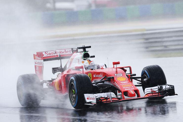 Sebastian Vettel - Ferrari - Formel 1 - GP Ungarn - 23. Juli 2016