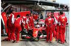 Sebastian Vettel - Ferrari - Formel 1-Test - Barcelona - 1. März 2015