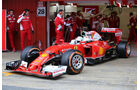 Sebastian Vettel - Ferrari - Formel 1 - Test - Barcelona - 2. März 2016