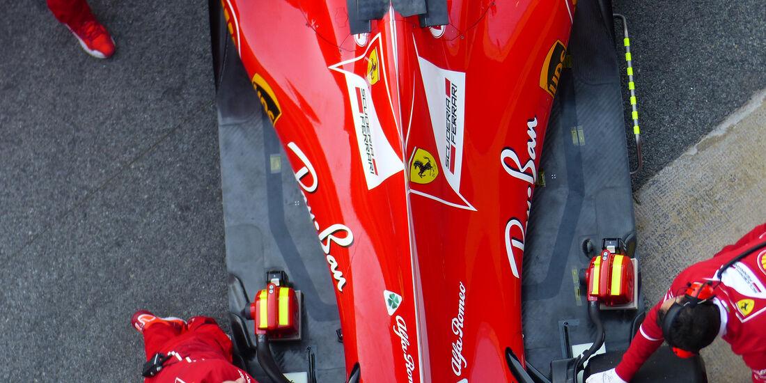 Sebastian Vettel - Ferrari - Formel 1 - Test - Barcelona - 7. März 2017