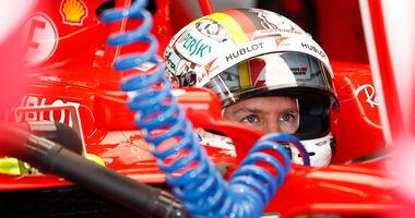 Sebastian Vettel - Ferrari -  Formel 1