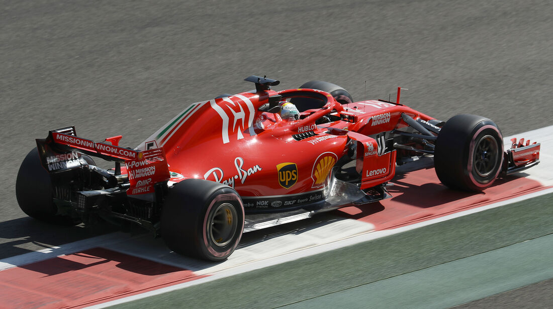 Sebastian Vettel - Ferrari - GP Abu Dhabi - Formel 1 - 23. November 2018