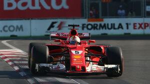Sebastian Vettel - Ferrari - GP Aserbaidschan 2017 - Baku - Qualifying