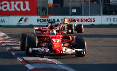 Fahrernoten GP Aserbaidschan
