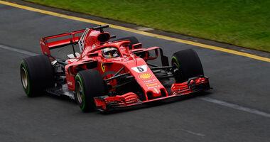 Sebastian Vettel - Ferrari - GP Australien 2018 - Melbourne