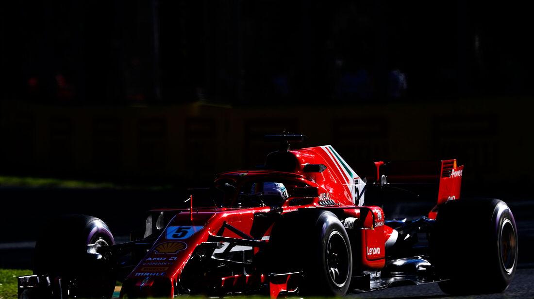 Sebastian Vettel - Ferrari - GP Australien 2018