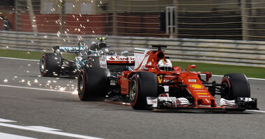 Sebastian Vettel - Ferrari - GP Bahrain 2017
