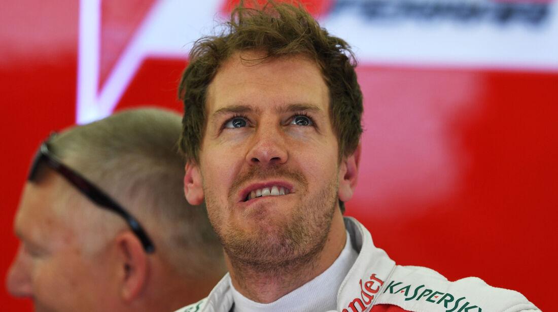 Sebastian Vettel - Ferrari - GP Bahrain - Formel 1 - 1. April 2016