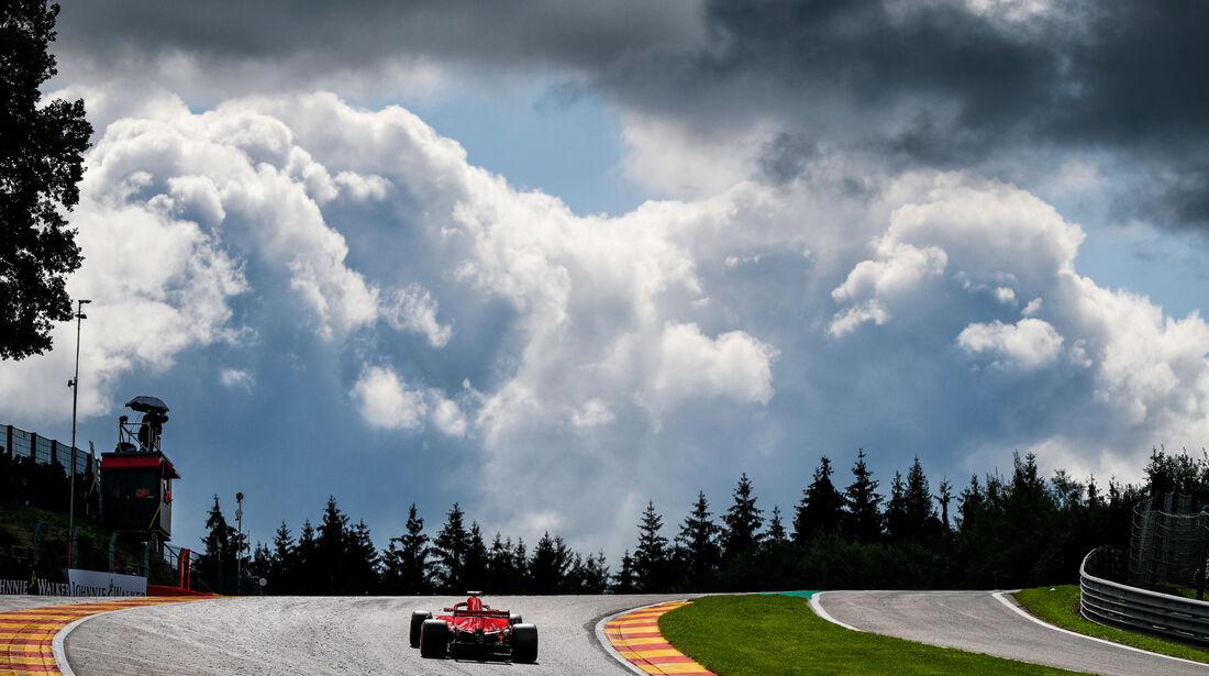 Sebastian Vettel - Ferrari - GP Belgien 2018