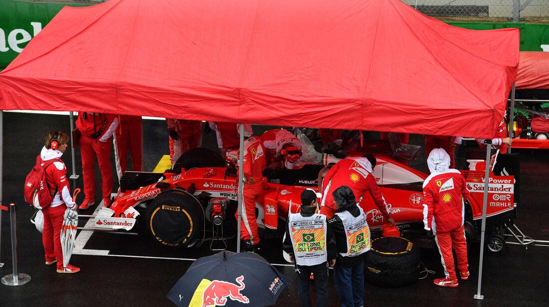 Sebastian Vettel - Ferrari - GP Brasilien 2016 - Interlagos - Rennen