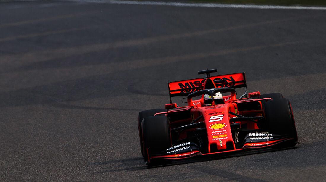 Sebastian Vettel - Ferrari - GP China - Shanghai - Fórmula 1 - Viernes - 12.4.2019