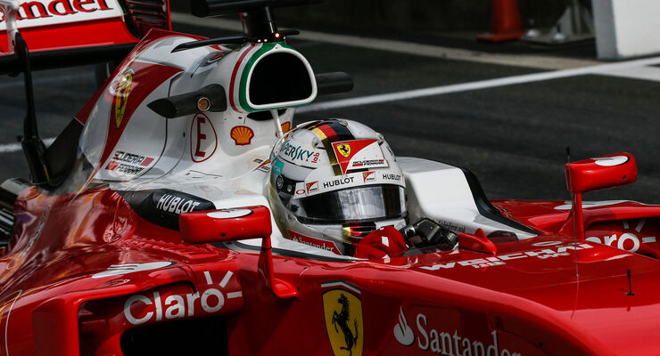 Sebastian Vettel - Ferrari - GP China