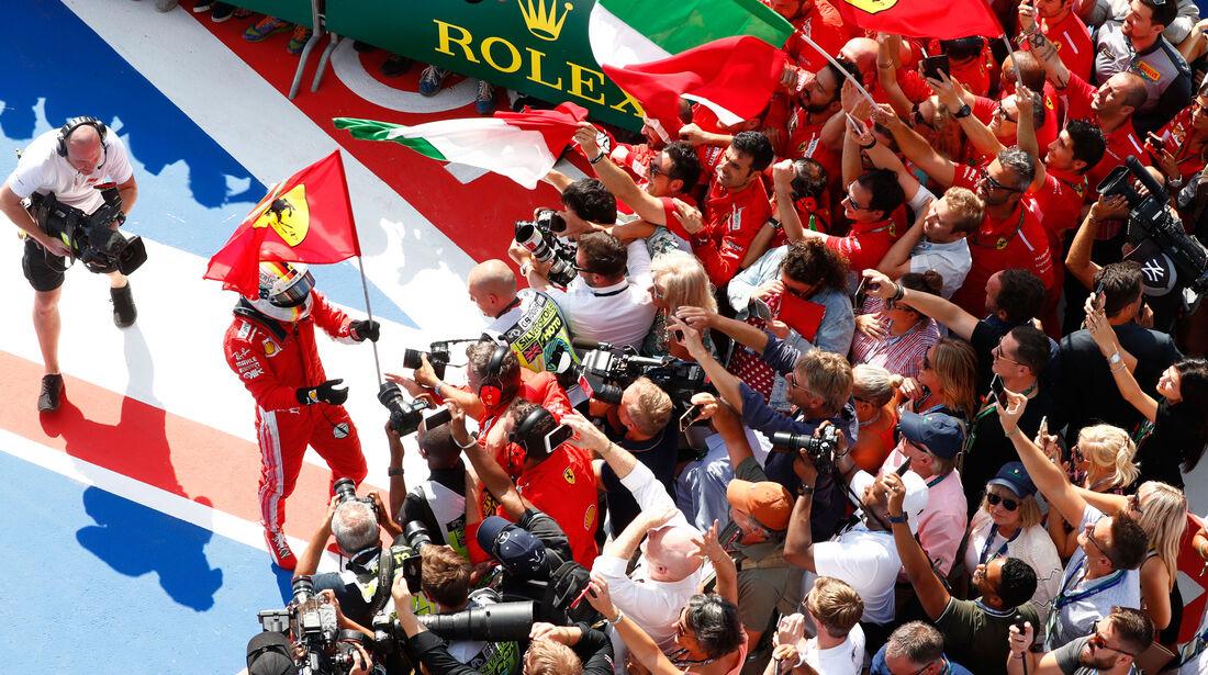 Sebastian Vettel - Ferrari - GP England 2018