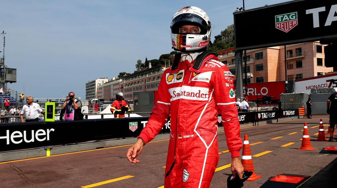 Sebastian Vettel - Ferrari - GP Monaco - Formel 1 - 25. Mai 2017