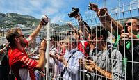 Sebastian Vettel - Ferrari - GP Monaco - Formel 1 - Mittwoch - 23.5.2018