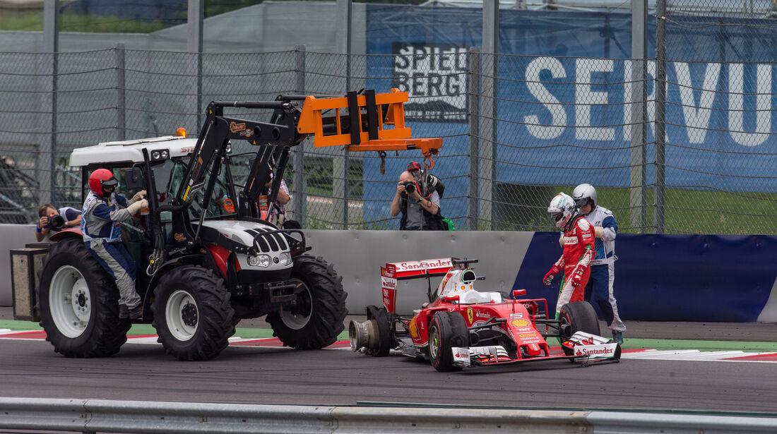 Sebastian Vettel - Ferrari -  GP Österreich 2016