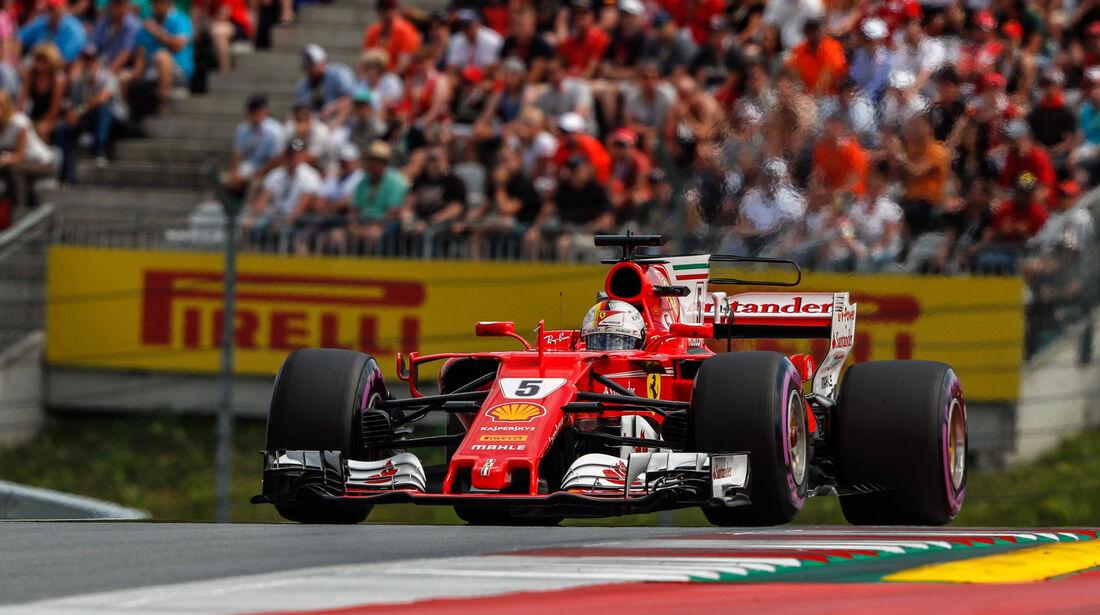 Sebastian Vettel - Ferrari - GP Österreich 2017 - Spielberg - Qualifying