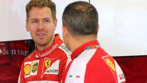 Sebastian Vettel - Ferrari - GP Russland - Sochi - Donnerstag - 8.10.2015