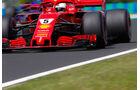 Sebastian Vettel - Ferrari - GP Ungarn - Budapest - Formel 1 - 27.7.2018