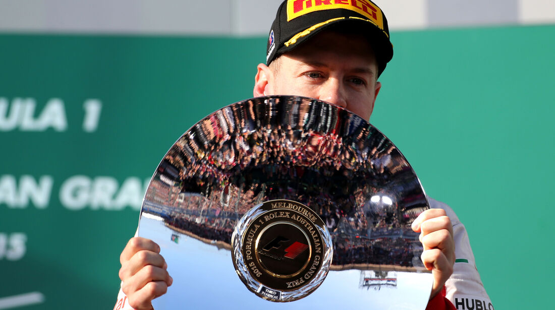 Sebastian Vettel - Formel 1 - GP Australien 2015