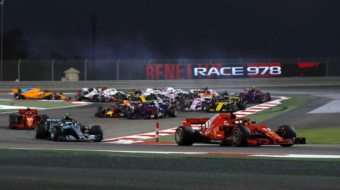 Sebastian Vettel - Formel 1 - GP Bahrain 2018
