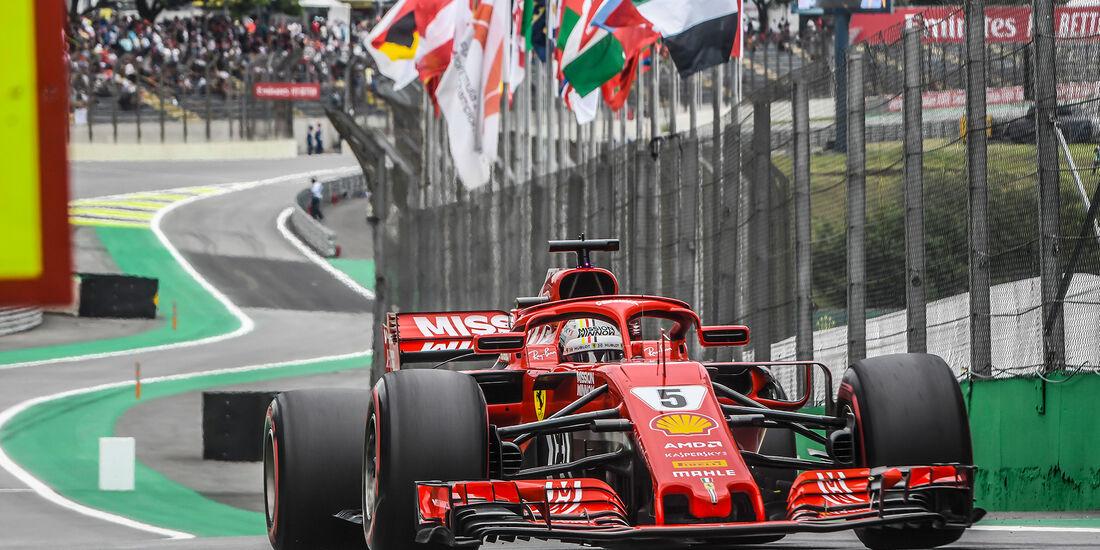Sebastian Vettel - Formel 1 - GP Brasilien 2018