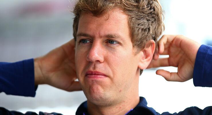 Sebastian Vettel - Formel 1 - GP Brasilien - 6. November 2014