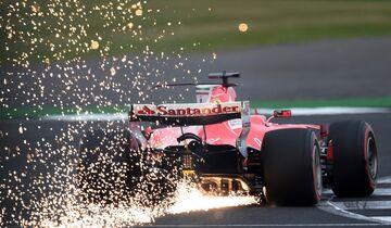 Sebastian Vettel - Formel 1 - GP England - 15. Juli 2017