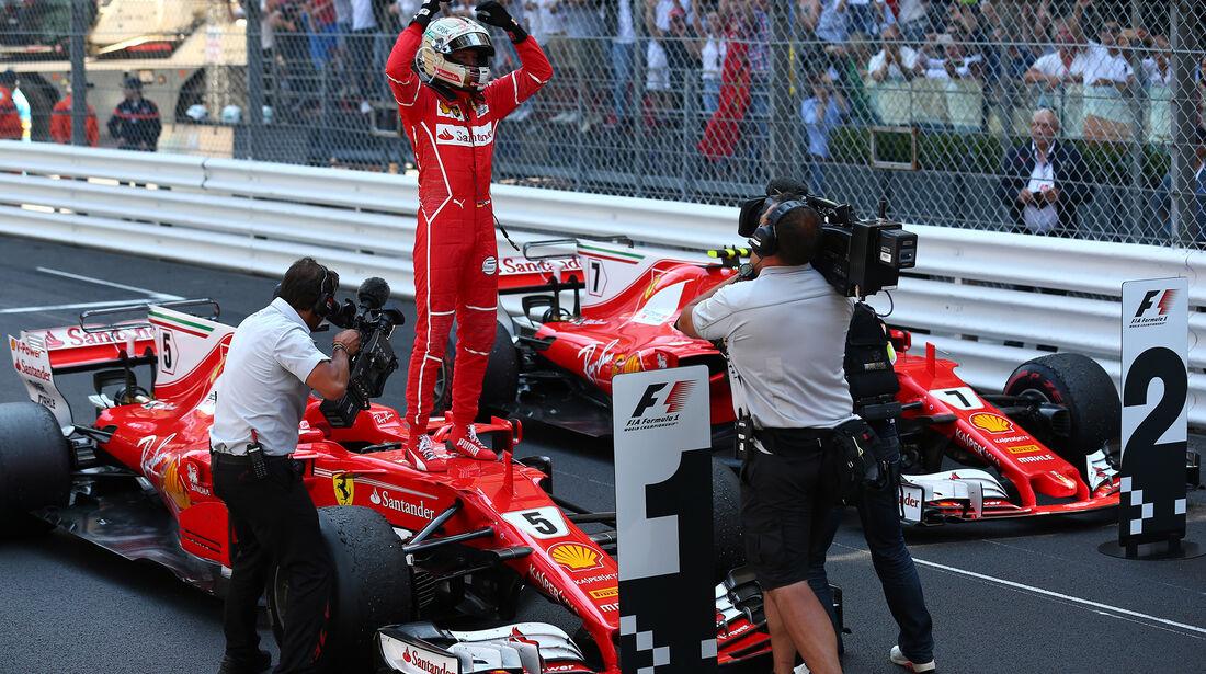 Sebastian Vettel - Formel 1 - GP Monaco 2017