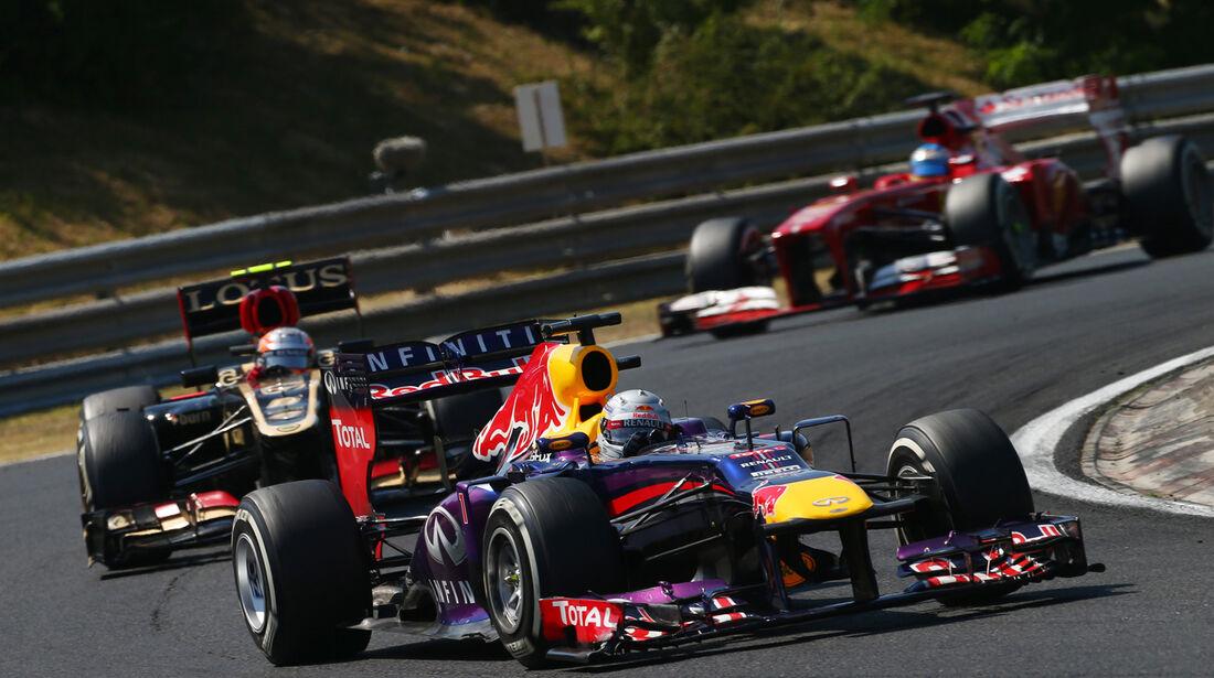 Sebastian Vettel - Formel 1 - GP Ungarn 2013