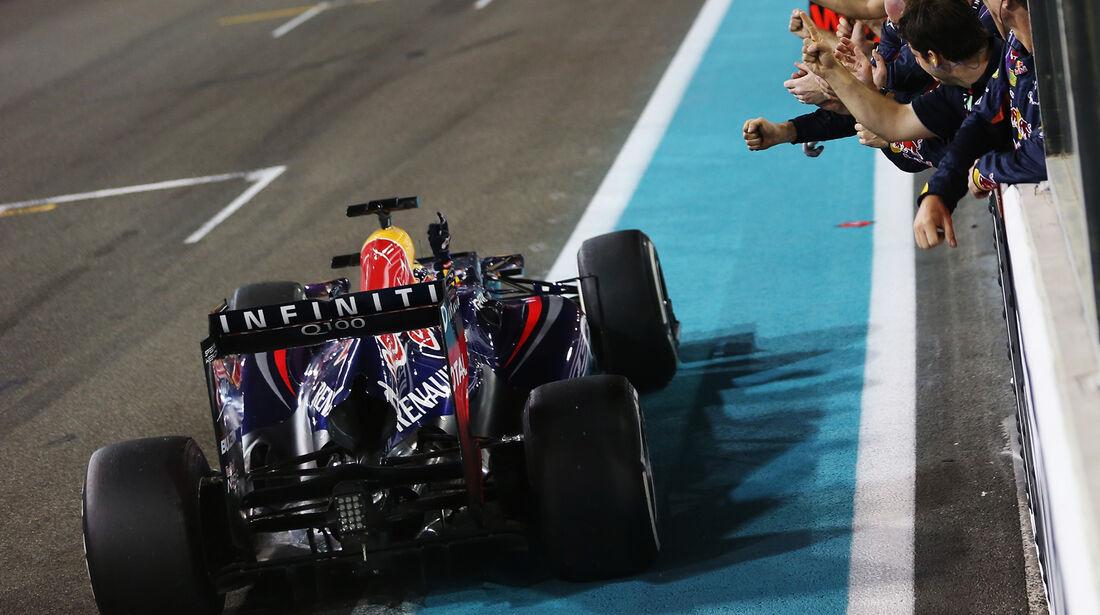 Sebastian Vettel - GP Abu Dhabi 2013