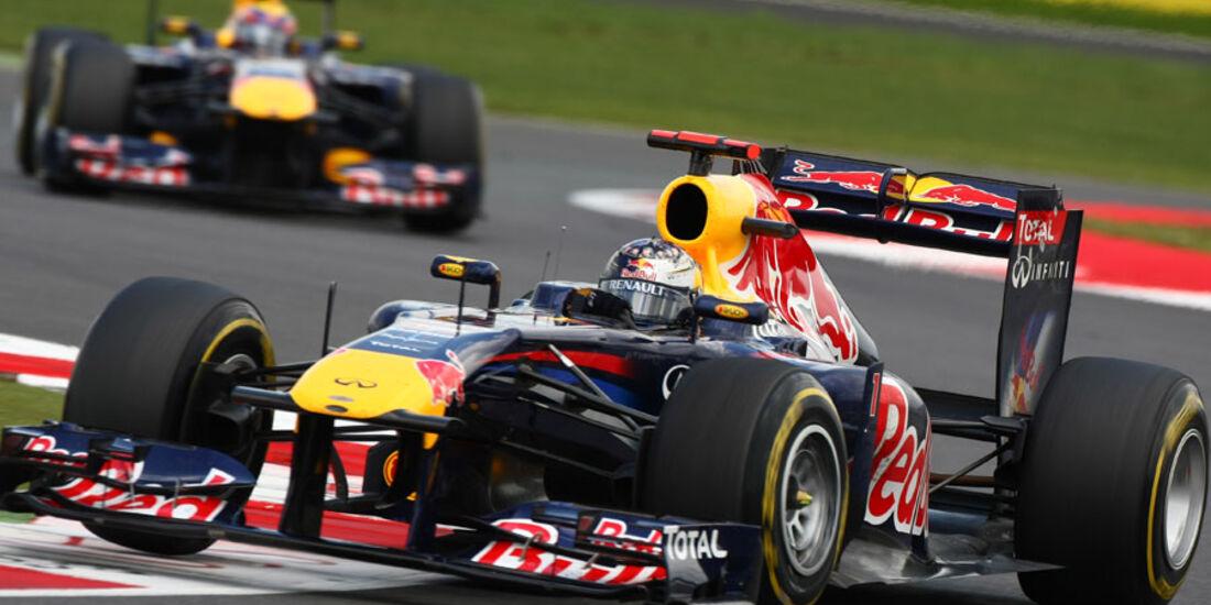 Sebastian Vettel GP England 2011 Rennen